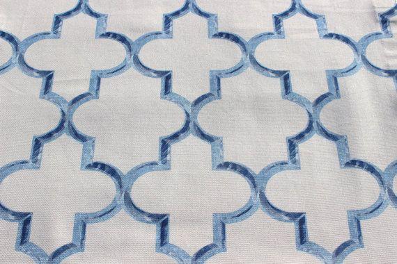 Bueberry Trellis Eleta Fabric By The Yard Curtain by FabricMart