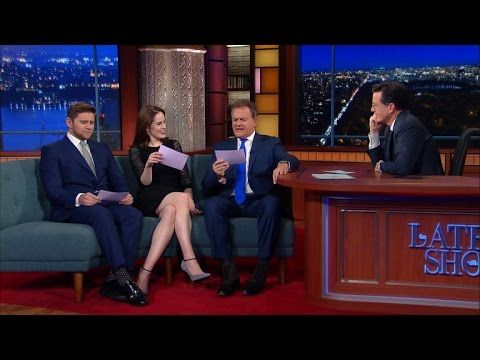 Cast Members of Downton Abbey Recreate Scene from the Show With Exaggerated American Accents