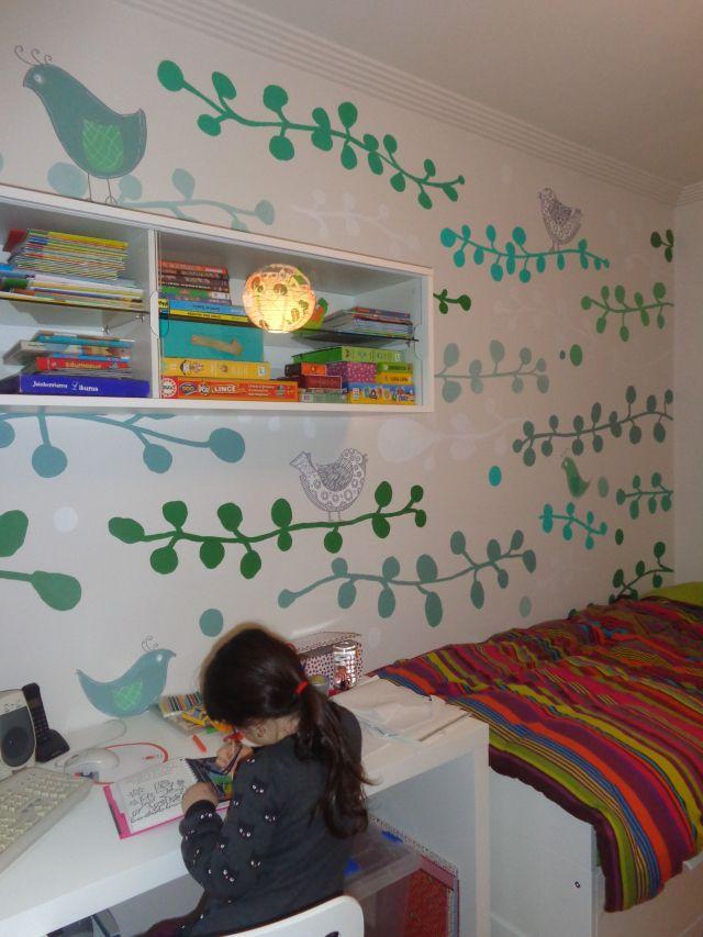 Mural infantil realizado por La Jirafa Proyectos Artísticos