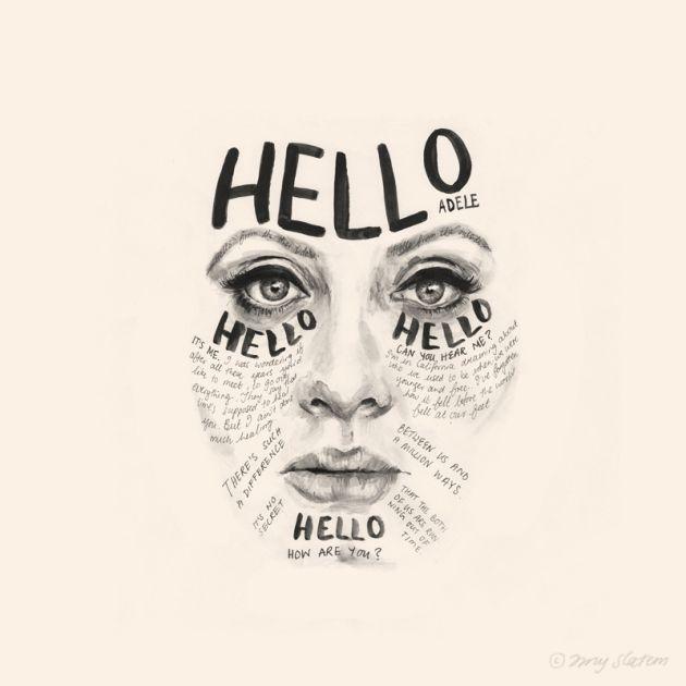 Adele by Amy Slatem