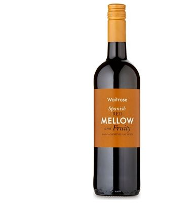 Waitrose Cellar Waitrose Mellow And Fruity Spanish Red This succulent red is full of bright, plump and slightly spicy fruit character unencumbered by oak. Its a great example of its kind.in the Wines from Spain Awards 2014 (Barcode EAN=5000169205426) http://www.MightGet.com/january-2017-13/waitrose-cellar-waitrose-mellow-and-fruity-spanish-red.asp