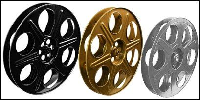 Reel wall decorations