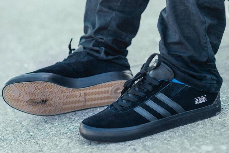 adidas Skateboarding Gonz Pro: Black/Grey