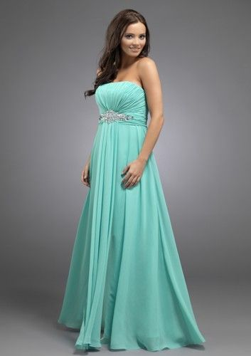 Absolutely love it!!! Its a beautiful color.Flattering chiffon evening gown by Scarlett Evenings