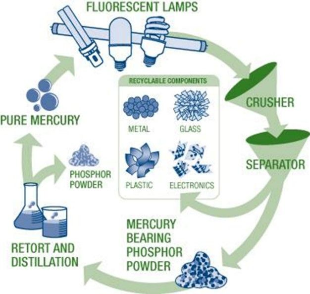 Understanding Recycling Light Bulbs Recycled Light Bulbs