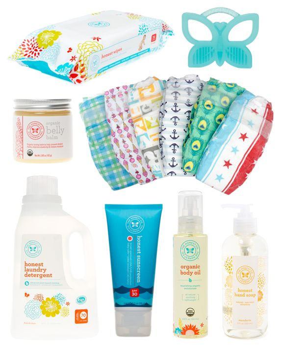 Today's giveaway is a big one! The Honest Company is one of…