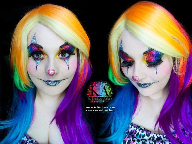 92 best clown makeup images on Pinterest | Clown makeup, Clowns ...