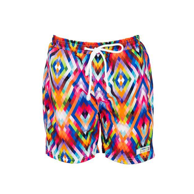 Kąpielówki z UPF50+ COLOR TIME - HONOLULU_Beachwear - Stroje sportowe dla dzieci