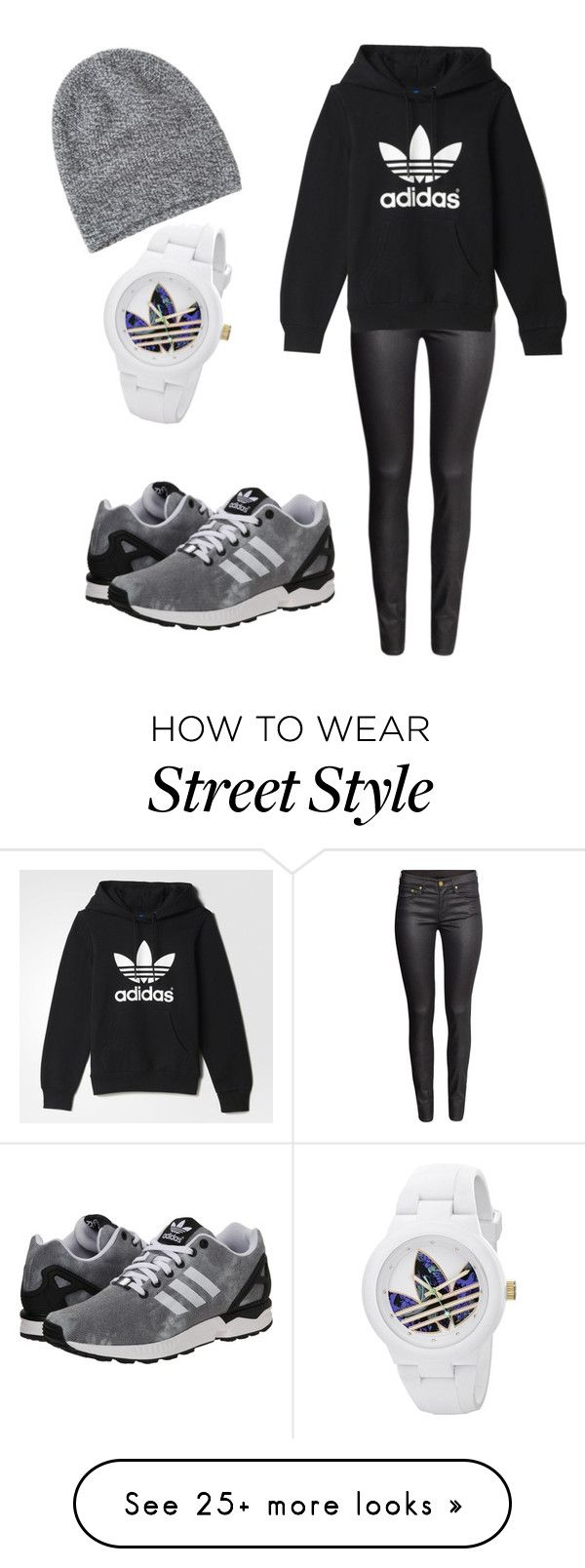"""""""Adidas street style"""" by lautjo on Polyvore featuring H&M, adidas Originals, Toast and adidas"""