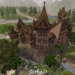 Sci-fi A Fantasy domy/SCI-FI AND FANTASY HOUSES | JarkaD Sims3 blog
