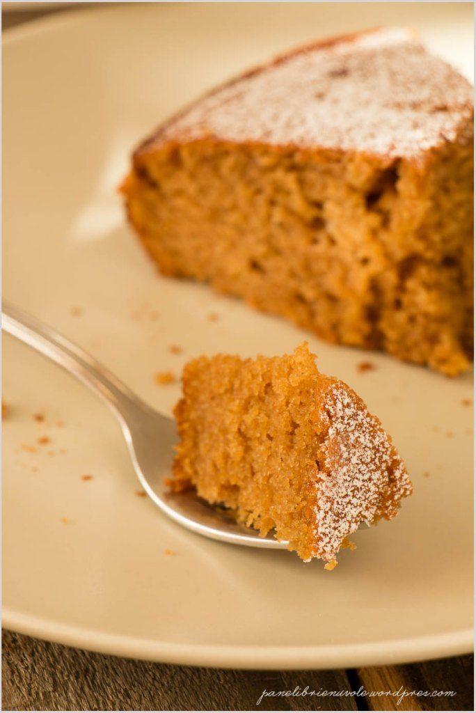 Torta con farina di castagne e clementine- Chestnut flour and tangerine cake
