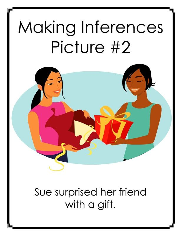 Free Inference Carousel: Making Inferences with Pictures and Captions - 32 page must see activity!