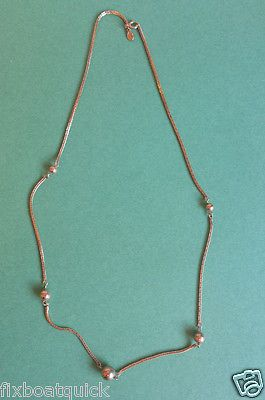 """#sale on ebay AVON women gold plated necklace 24"""" long (probably gold filled) withing our EBAY store at  http://stores.ebay.com/esquirestore"""
