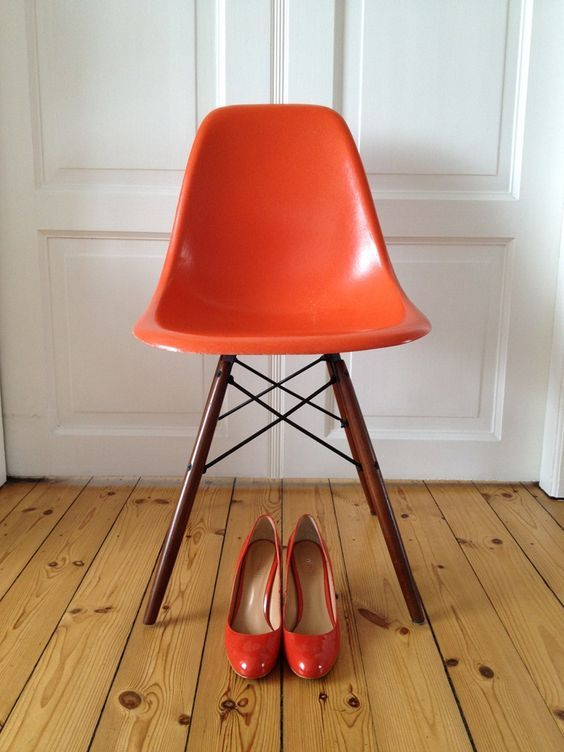 Lovely chair and lovely shoes