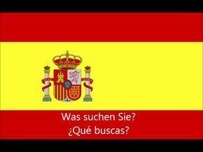 Spanisch Lernen: 150 Spanisch-Sätze für Anfänger - YouTube