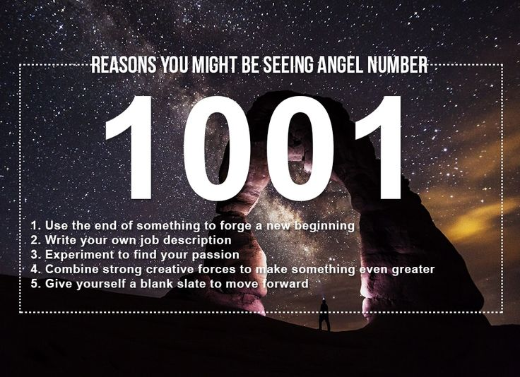 Angel number 1001 meanings why are you seeing 1001 in