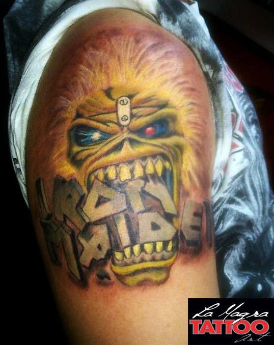 #iron #maiden #eddie #tattoo