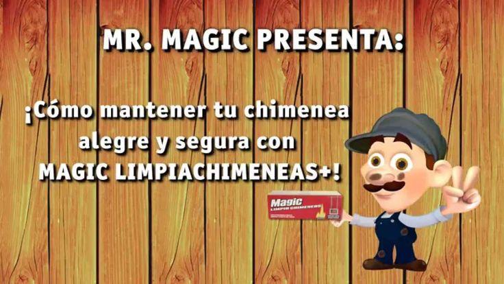 www.clubmagic.com Magic limpiachimeneas+.La mejor manera de limpiar en profundidad tu chimenea manteníendola siempre limpia, sin alquitran ni hollines...y asegurándote un óptimo funcionamiento.Te ahorrarás tiempo, dinero y problemas