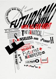 filippo marinetti typography - Google Search