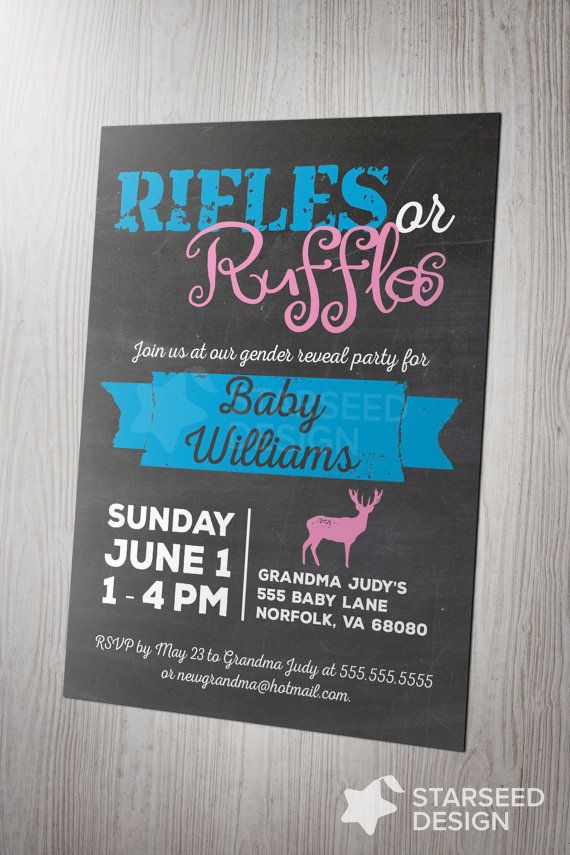 best 25+ gender reveal party invitations ideas on pinterest | baby, Party invitations