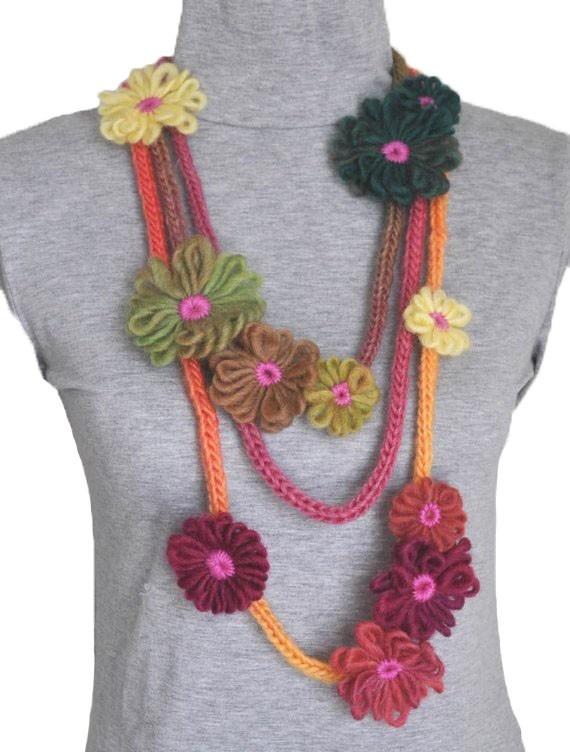 Fun spring/summer scarf for kk