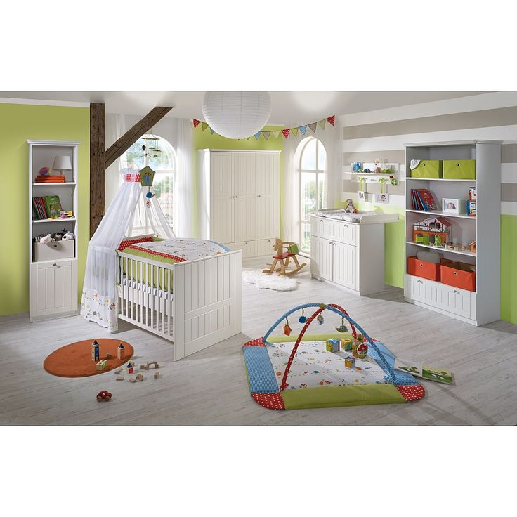 Nice Das teilige Kinderzimmer Dreamworld von Roba im Dekor Wei topmatt vereint einen modernen