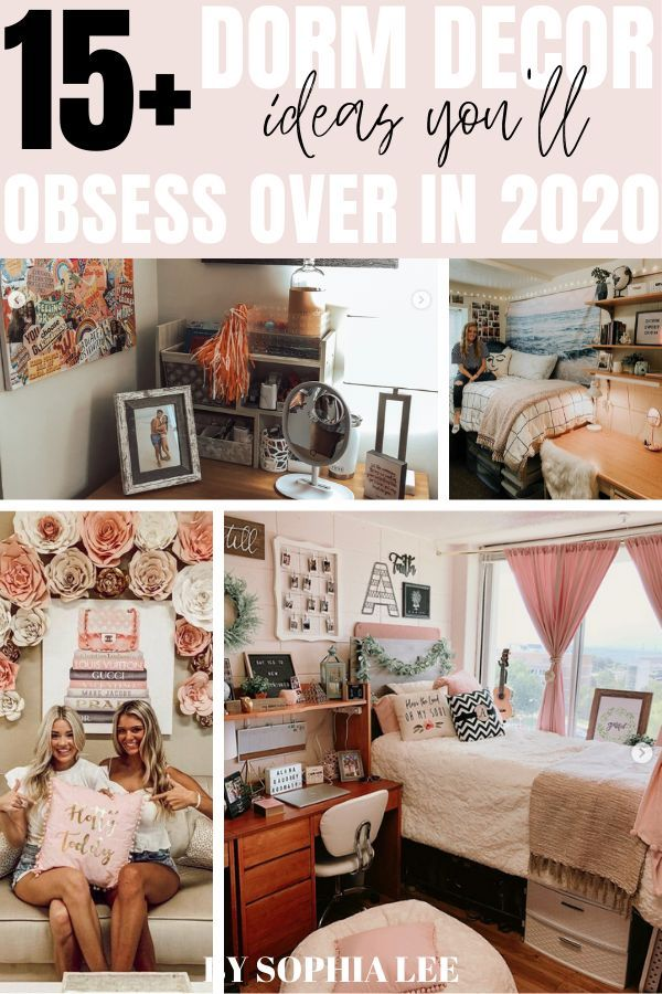 15 Genius Dorm Wall Decor Ideas That Are Insanely Cute In 2020