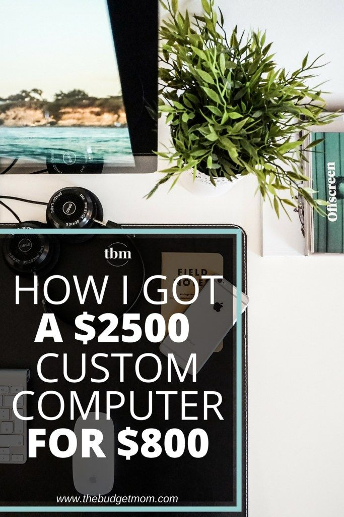Have you ever wondered if it would just be cheaper to build your own computer? This is my experience with having a custom computer made specifically for my needs. If you are looking for a computer that has features beyond a basic desktop, building one can save you a ton of money. Click to read about my experience and why I have no regrets!