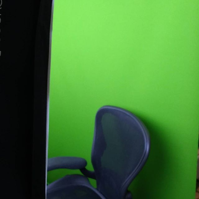 Green screen recording is GO