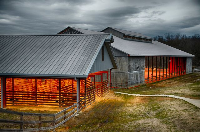 Sycamore Hills Horse Barn and Arena by sduck409 on Flickr.