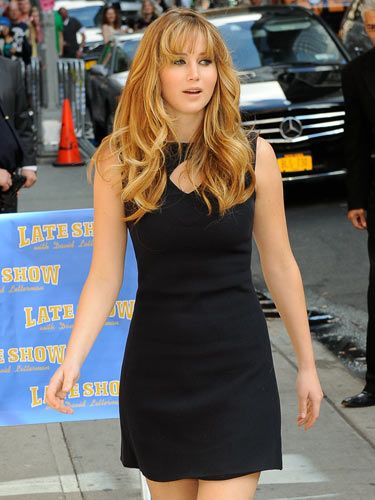 Jennifer Lawrence in a great LBD