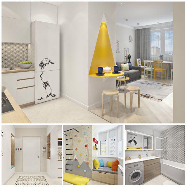 Двухкомнатная квартира, площадью 46 кв.м