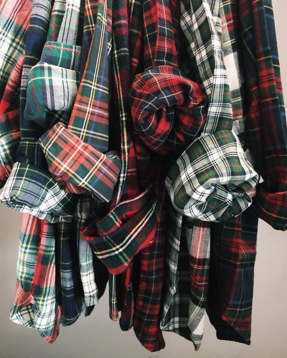 plaid flannels