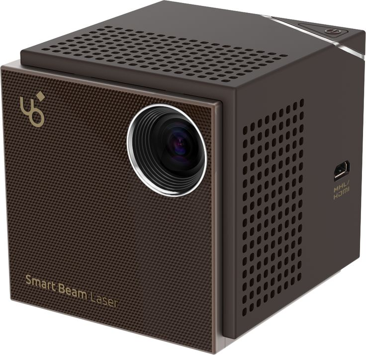 * Laser Projector       Conveys a clear picture by implementing a maximum brightness of 60       ANSI Lumens using a laser power source. The display uses LCoS (liquid       crystal on silicon).      * Wired/Wireless Modes       Supports a wireless connection through WiFi but also a wired       connection using HDMI/MHL.      * HD       High definition 1280x720 resolution where you can watch movies or       show a presentation      * Focus Free Function       There is no need to adjust th...
