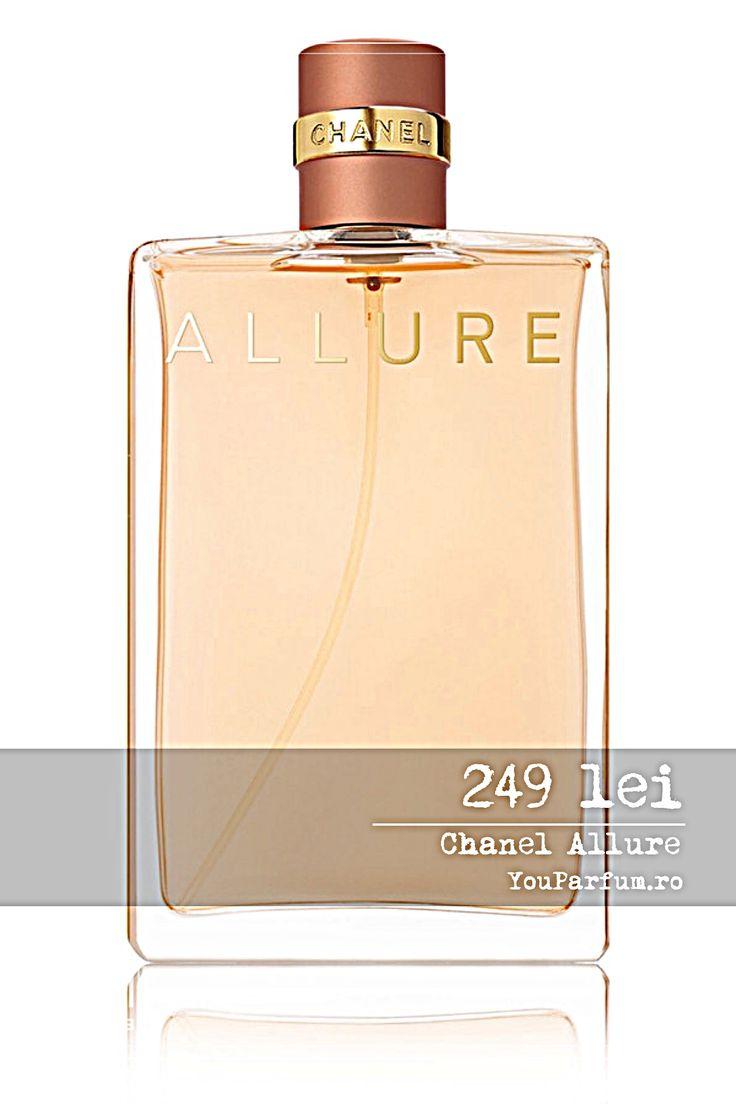 Cauti un parfum unic si senzual ce iti va incanta toate simturile si te va face sa te mai increzatoare in imagine ta? Atunci nu vei regreta daca vei incerca parfumul de lux, Allure de la celebrul brand francez Chanel. Senzualitatea, originalitatea si delicatetea sunt principalele ingrediente a apei de toaleta Chanell Allure ce iti va oferi o experienta de neuitat. Delecteaza-te cu un parfum unic si incantator de la faimosul brand Chanel!
