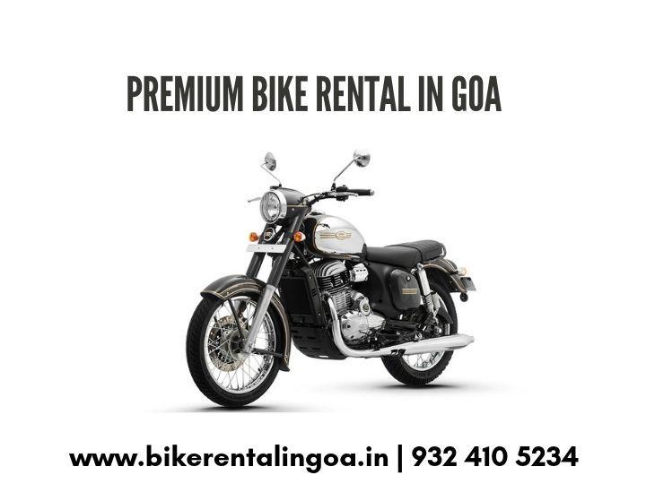 Bikes On Rent In Goa