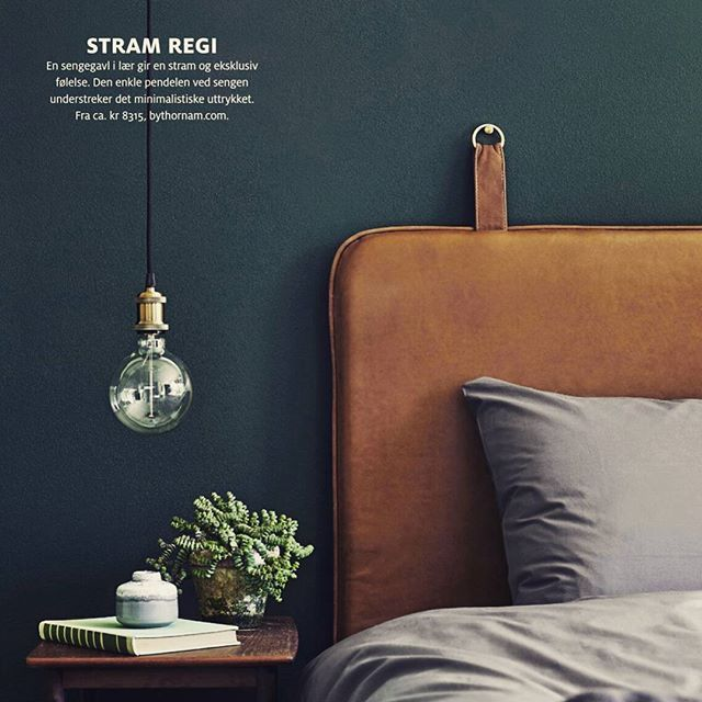 THE M featured in the Norwegian magazine BONYTT #them #bythornam #headboard #bedroom #interiordesign #design #sleep #furniture #leather #slowliving #luxery #home #green #interiorstyling #bonytt #nordic #nordichome #nordicliving #norway