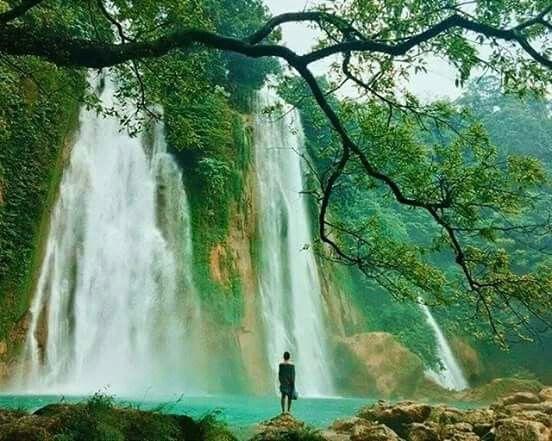 Cikaso Waterfall Sukabumi, West Java