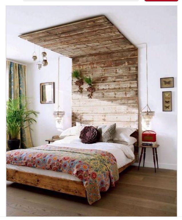 Im Schlafzimmer, Diy Palettenprojekte, Neutrale Palette, Appartment  Therapie, Fensterwand, Schlafzimmer, Rustikal, Tischlerei, Möbel