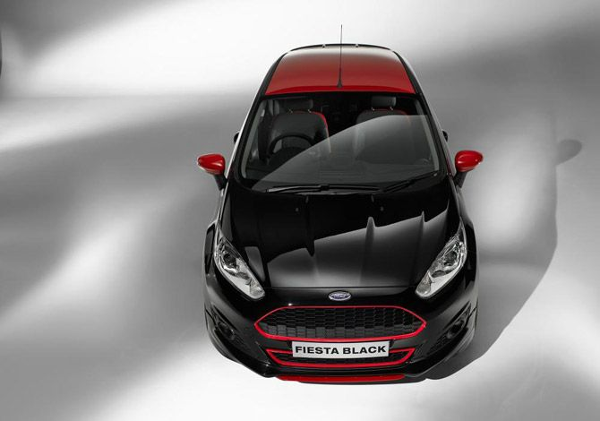 Ford Fiesta Zetec S Red and Black Edition