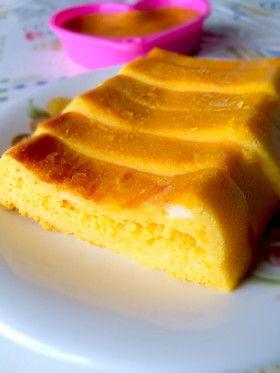 かぼちゃの煮物deリメイクケーキ