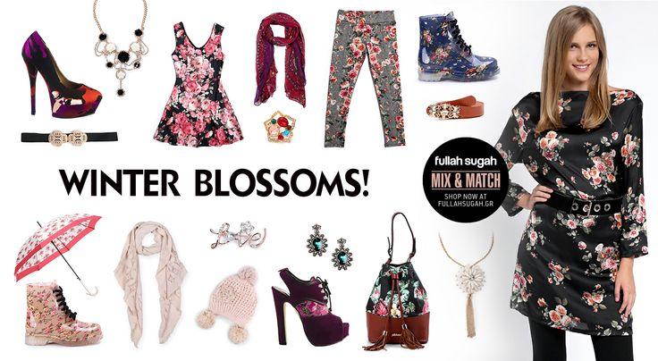 Mix & Match | Winter blossom! | http://fullahsugah.gr/ #MixAndMatch #FullahSugah