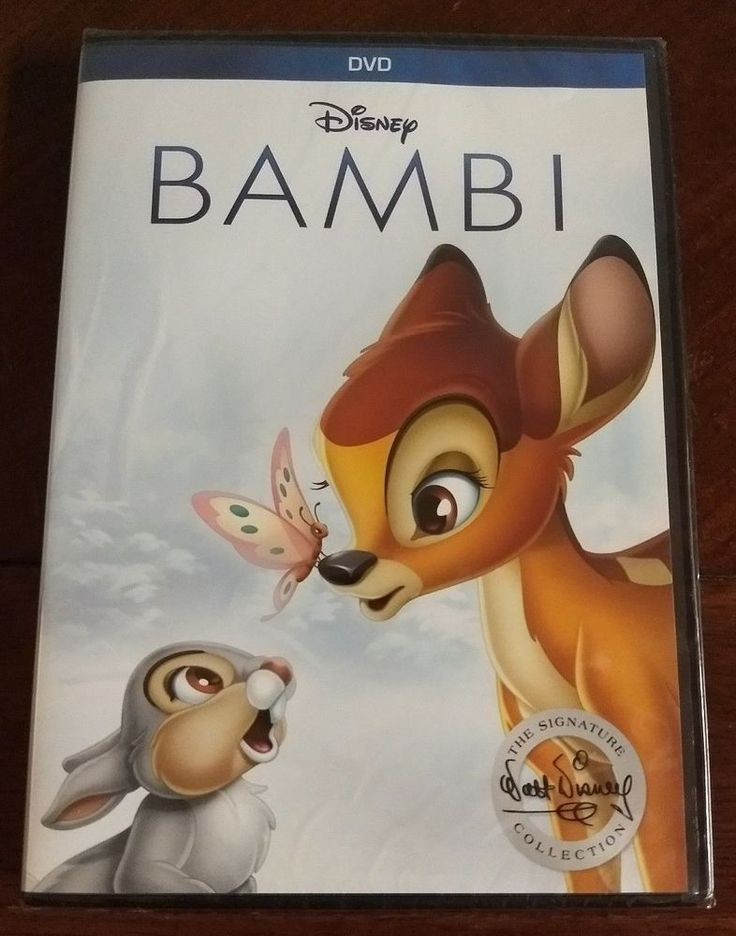 Disney-Bambi (DVD, 2017, The Signature Collection) NEW