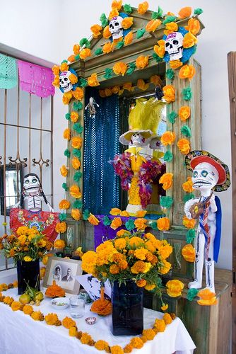 Dia de los Muertos Altar #2 - Oaxaca, Mexico