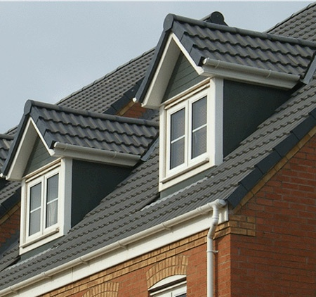 Dormer Window Verticle Protruding Through Sloping Roof Gable If It Has Its Own Or A Shed Flat Room