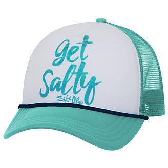 Salt Life Juniors Get Salty Print Baseball Hat | Bealls Florida