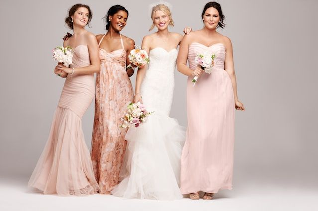 Best 25 different bridesmaid dresses ideas on pinterest for Romantic ethereal wedding dresses