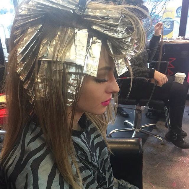 94 Best Foiled Highlights For Beauties Images On Pinterest Hair
