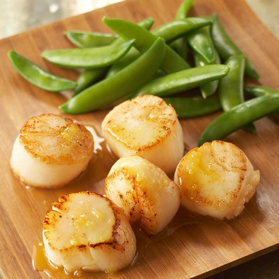 Scallops are a delicious seafood to have paired with healthy vegetables or for a surf and turf dinner! Learn how to prepare scallops and then cook them using various methods. We give you directions for pan seared, broiled, grilled or deep fried scallops.