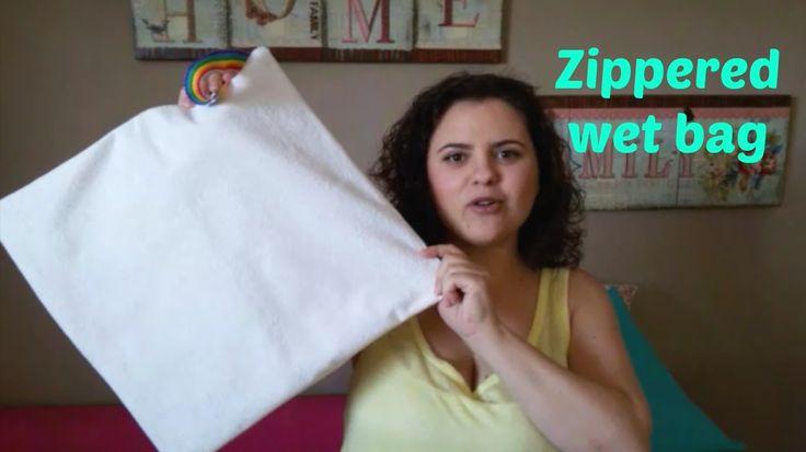 Αδιάβροχο τσαντάκι παραλίας How to Make an Easy zippered Wet Bag